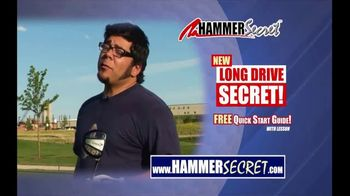 Hammer Secret TV Spot, 'Drive of Your Life' Featuring Jack Hamm - 26 commercial airings