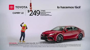 2021 Toyota Camry TV Spot, 'Trabajador de construcción' [Spanish] [T2] - Thumbnail 1