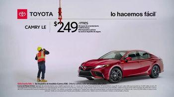 2021 Toyota Camry TV Spot, 'Trabajador de construcción' [Spanish] [T2] - Thumbnail 2