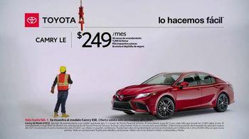 2021 Toyota Camry TV Spot, 'Trabajador de construcción' [Spanish] [T2] - Thumbnail 3