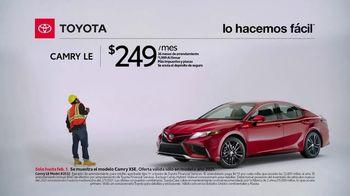 2021 Toyota Camry TV Spot, 'Trabajador de construcción' [Spanish] [T2] - Thumbnail 4