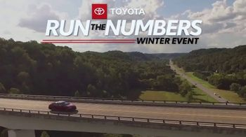 Toyota Run the Numbers Winter Event TV Spot, 'Start With Four: Camry' [T2] - Thumbnail 2