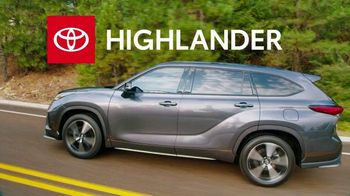 Toyota Run the Numbers Winter Event TV Spot, 'Start With One: Highlander' [T2] - Thumbnail 3
