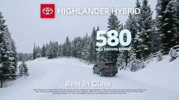 Toyota Run the Numbers Winter Event TV Spot, 'Start With One: Highlander' [T2] - Thumbnail 7