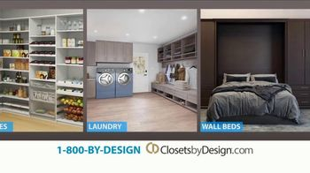 Closets by Design TV Spot, 'More Than Organizing: 40% Off' - Thumbnail 8