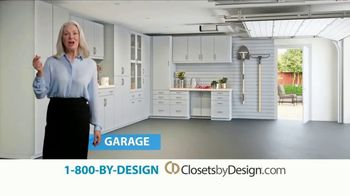 Closets by Design TV Spot, 'More Than Organizing: 40% Off' - Thumbnail 2