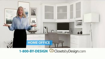 Closets by Design TV Spot, 'More Than Organizing: 40% Off' - Thumbnail 3