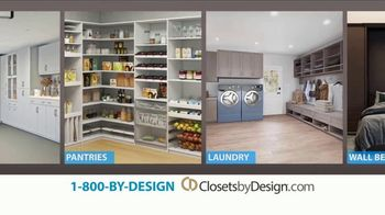 Closets by Design TV Spot, 'More Than Organizing: 40% Off' - Thumbnail 7