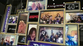 Postmates TV Spot, 'NFL Super Wild Card Weekend: Fan Feeds' - 21 commercial airings