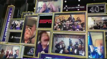 Postmates TV Spot, 'NFL Super Wild Card Weekend: Fan Feeds' - Thumbnail 3