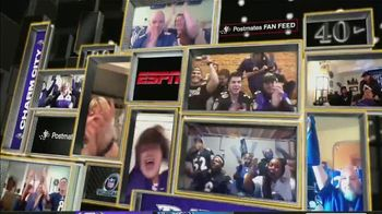 Postmates TV Spot, 'NFL Super Wild Card Weekend: Fan Feeds' - Thumbnail 5
