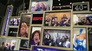 Postmates TV Spot, 'NFL Super Wild Card Weekend: Fan Feeds' - Thumbnail 7