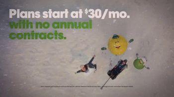 Cricket Wireless TV Spot, 'Holidays: Snowflake: Plans Starting at $30' - Thumbnail 8
