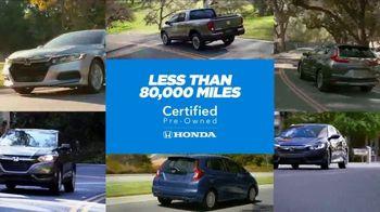 Honda Certified Pre-Owned TV Spot, 'Honda Has' [T1] - Thumbnail 9