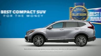 Honda CR-V Sell Down TV Spot, 'SUV of the Decade' [T2] - Thumbnail 5