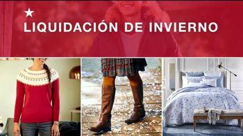 Macy's Liquidación de Invierno TV Spot, 'Chaquetas, botas y para el hogar' [Spanish] - Thumbnail 2