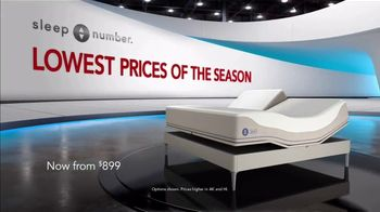 Sleep Number Lowest Prices of the Season TV Spot, 'Weekend Special: Snoring: $899' - Thumbnail 2