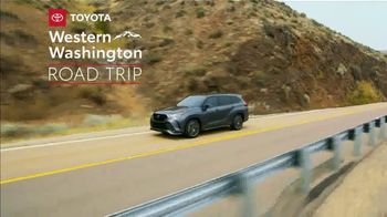 2021 Toyota Highlander TV Spot, 'Western Washington Road Trip: Serious Power' Ft. Ethan Erickson [T2] - Thumbnail 2