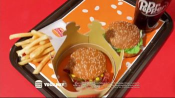 Burger King $1 Your Way Menu TV Spot, 'All You Need' Song by Aloe Blacc - Thumbnail 9