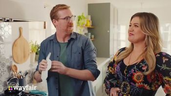 Wayfair TV Spot, 'What You Want' Featuring Kelly Clarkson