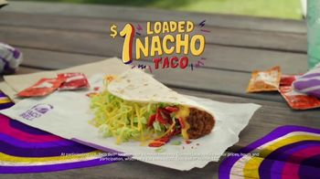 Taco Bell Loaded Nacho Taco TV Spot, 'Add Some Flavor' - Thumbnail 8