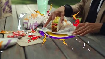 Taco Bell Loaded Nacho Taco TV Spot, 'Add Some Flavor' - Thumbnail 2