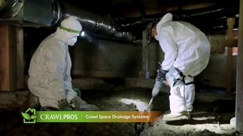 Crawl Pros TV Spot, 'Water in a Crawl Space' - Thumbnail 7
