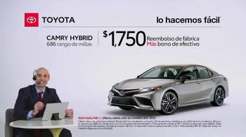 2021 Toyota Camry Hybrid TV Spot, 'Comentarista deportivo' [Spanish] [T2] - Thumbnail 2