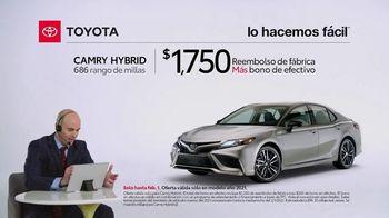 2021 Toyota Camry Hybrid TV Spot, 'Comentarista deportivo' [Spanish] [T2] - Thumbnail 3