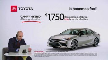 2021 Toyota Camry Hybrid TV Spot, 'Comentarista deportivo' [Spanish] [T2] - Thumbnail 4