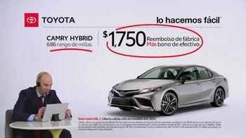 2021 Toyota Camry Hybrid TV Spot, 'Comentarista deportivo' [Spanish] [T2] - Thumbnail 5