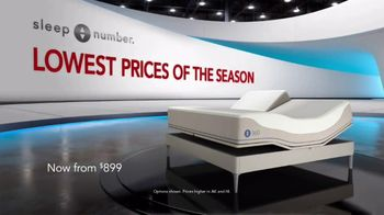 Sleep Number Lowest Prices of the Season TV Spot, 'Weekend Special: Queen for $899' - Thumbnail 1