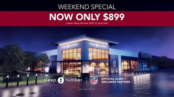 Sleep Number Lowest Prices of the Season TV Spot, 'Weekend Special: Queen for $899' - Thumbnail 7