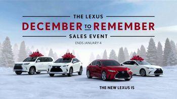 Lexus December to Remember Sales Event TV Spot, 'Driveway Moments: Graduation' [T2] - Thumbnail 9