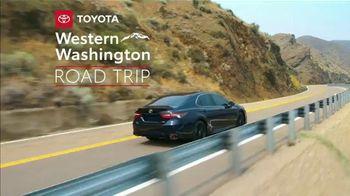 2021 Toyota Camry TV Spot, 'Western Washington Road Trip: Power and Style' Ft. Ethan Erickson [T2]  - Thumbnail 1