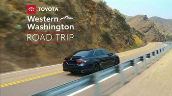 2021 Toyota Camry TV Spot, 'Western Washington Road Trip: Power and Style' Ft. Ethan Erickson [T2]  - Thumbnail 2
