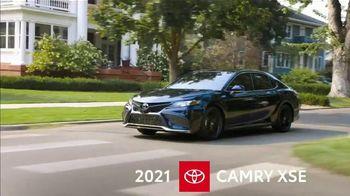 2021 Toyota Camry TV Spot, 'Western Washington Road Trip: Power and Style' Ft. Ethan Erickson [T2]  - Thumbnail 3