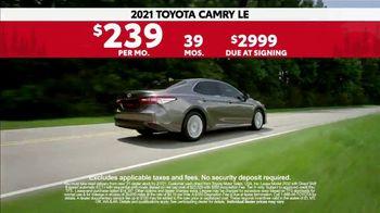 2021 Toyota Camry TV Spot, 'Western Washington Road Trip: Power and Style' Ft. Ethan Erickson [T2]  - Thumbnail 7