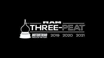 Ram Trucks Big Finish 2020 TV Spot, 'At Our Best' Song by Chris Stapleton [T2] - Thumbnail 7