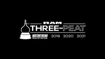 Ram Trucks Big Finish 2020 TV Spot, 'Nothing More Rewarding' Song by Chris Stapleton [T2] - Thumbnail 7