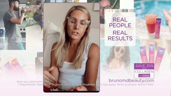 Bruno MD Royal Collagen Peptides TV Spot, 'Real People, Real Results'