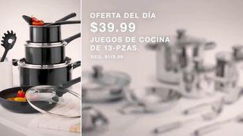 Macy's Venta de Un Día TV Spot, 'Almohadas, edredones y utensilios de cocina de diseño' [Spanish] - Thumbnail 4