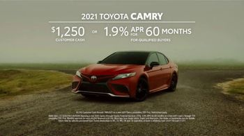2021 Toyota Camry TV Spot, 'Speaks for Itself' [T2] - Thumbnail 7