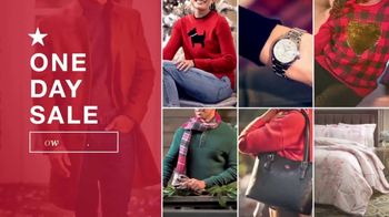 Macy's One Day Sale TV Spot, 'Designer Pillows, Comforters, Cookware' - Thumbnail 1