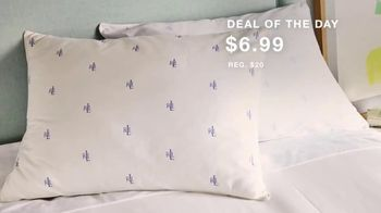 Macy's One Day Sale TV Spot, 'Designer Pillows, Comforters, Cookware'