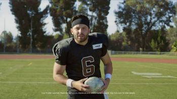 Hulu TV Spot, 'Live Sports: Go Long' Featuring Baker Mayfield - 1 commercial airings