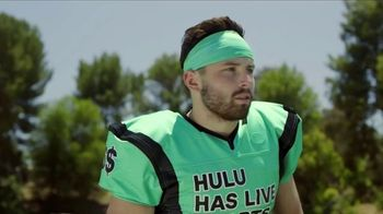 Hulu TV Spot, 'Live Sports: Go Long' Featuring Baker Mayfield - Thumbnail 1