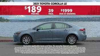 2021 Toyota Corolla TV Spot, 'Western Washington Road Trip: Connected' Ft. Ethan Erickson [T2] - Thumbnail 8