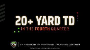 DraftKings Big Play Payday TV Spot, 'NFL Wild Card: Ravens vs. Titans' - Thumbnail 4