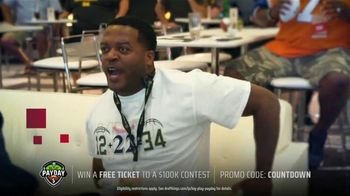 DraftKings Big Play Payday TV Spot, 'NFL Wild Card: Ravens vs. Titans' - Thumbnail 6